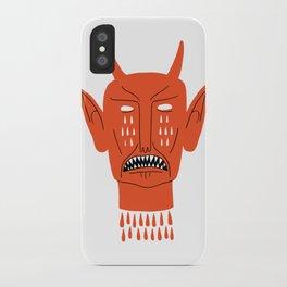 Devil's Head iPhone Case