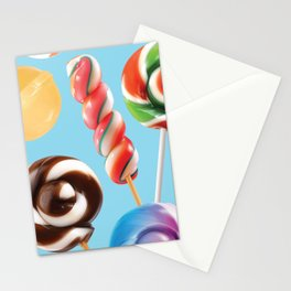 Lollipop Explosion Stationery Cards