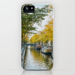 Canal Amsterdam Netherlands iPhone Case