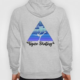 Figure Skating Female Skater Gift Hoody