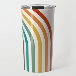 Bohemian Rainbow Travel Mug