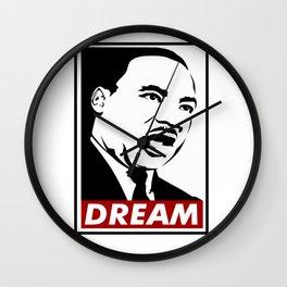 Martin Luther King Jr Dream Wall Clock