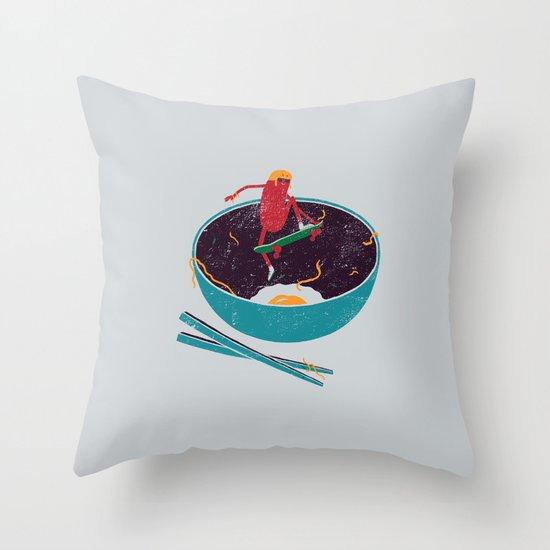 X-Food Throw Pillow