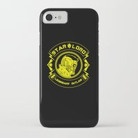 star lord iPhone & iPod Cases featuring Star Lord legendary outlaw by CarloJ1956