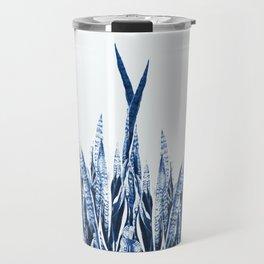 Blue Duotone Travel Mug