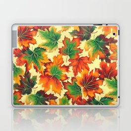 Autumn maple leaves I Laptop & iPad Skin
