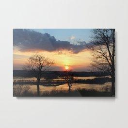 """Sunset Galena"" Metal Print"