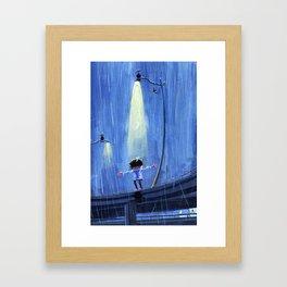 Let it Rain Framed Art Print