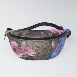 Blooming Plum Tree (4) Fanny Pack
