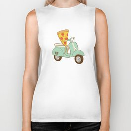 pizza delivery Biker Tank