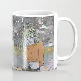 Alien in her Room Coffee Mug