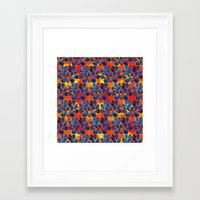 dylan Framed Art Prints featuring Dylan by Bunyip Designs