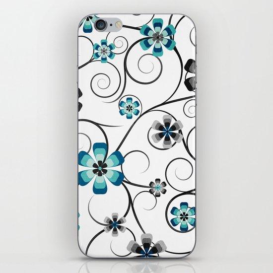 Winter Flowers iPhone & iPod Skin
