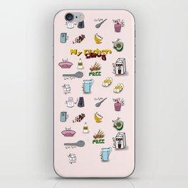 My kitchen story iPhone Skin