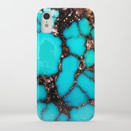 Macro Turquoise iPhone Case