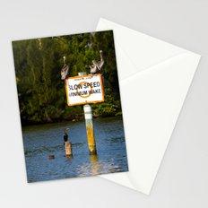 Manatee Zone Stationery Cards