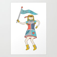 Future Dance Party Art Print