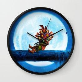 MASK OF MAJORA Wall Clock