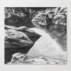 Pinnacles Reservoir Canvas Print