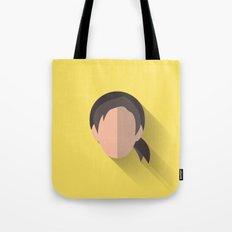 Leia Flat Design Episode VII Tote Bag