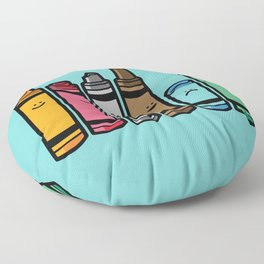 Overused Floor Pillow