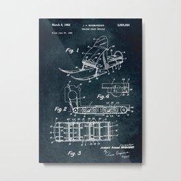 1960 - Endless track vehicle Metal Print