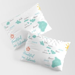 The Hawaiian Islands Pillow Sham