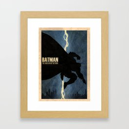 Return of the Bat Framed Art Print