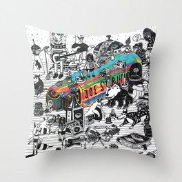 GLOBAL A GO-GO Throw Pillow