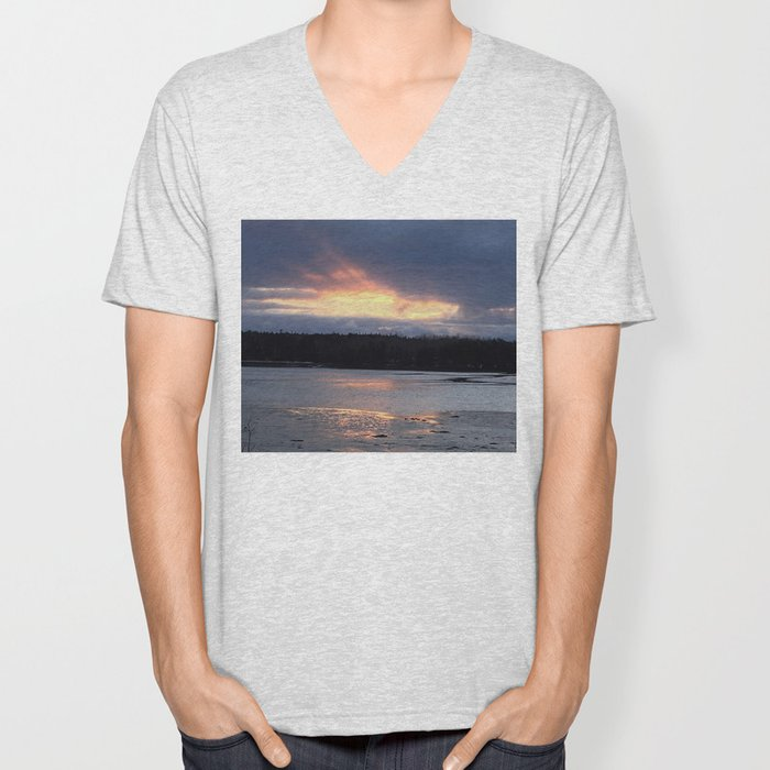 Breakthrough on the Water Unisex V-Neck