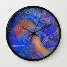 Chaotic Storm Wall Clock