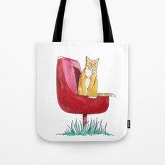Rusty Cat Tote Bag