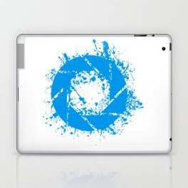 Portal Splatter Logo Laptop & iPad Skin