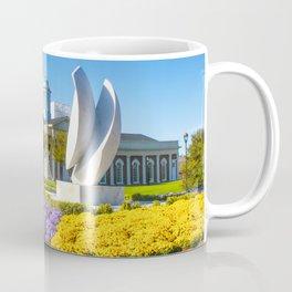 Christopher Newport University in Springtime Coffee Mug