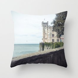 Ancient castle Throw Pillow