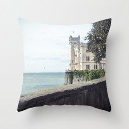 Ancient castle Throw Pillow