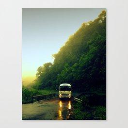 Mountain Bus Canvas Print