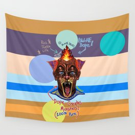 Dope Creates Monsters Uncut Wall Tapestry
