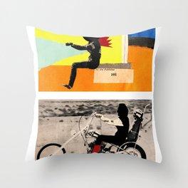 Run to me Throw Pillow