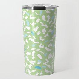Semblance in green Travel Mug