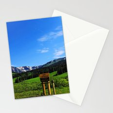 Gothic Campground Stationery Cards