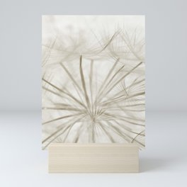 Dandelion Neutral Closeup Mini Art Print