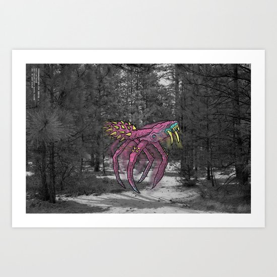 Unseen Monsters of Mount Shasta - Sqwizick Pinch by coopertaylorcollabs