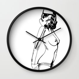 The Stormtrooper Wall Clock