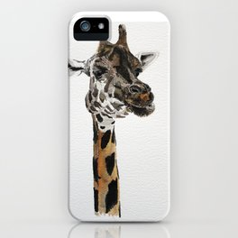 Giraffa camelopardalis iPhone Case