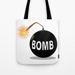 Cartoon Bomb Tote Bag