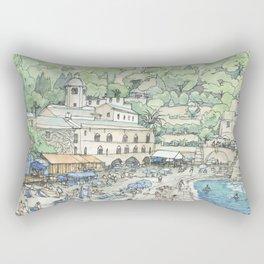 S. fruttuoso, Portofino Rectangular Pillow