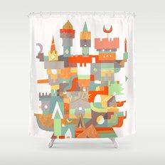 Structura 8 Shower Curtain