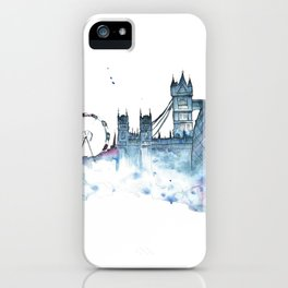 I dream of London iPhone Case