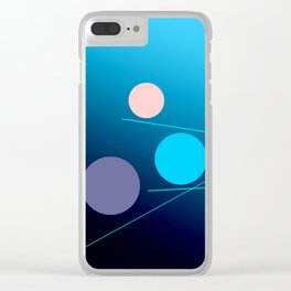 The 3 dots, power game 12 Clear iPhone Case